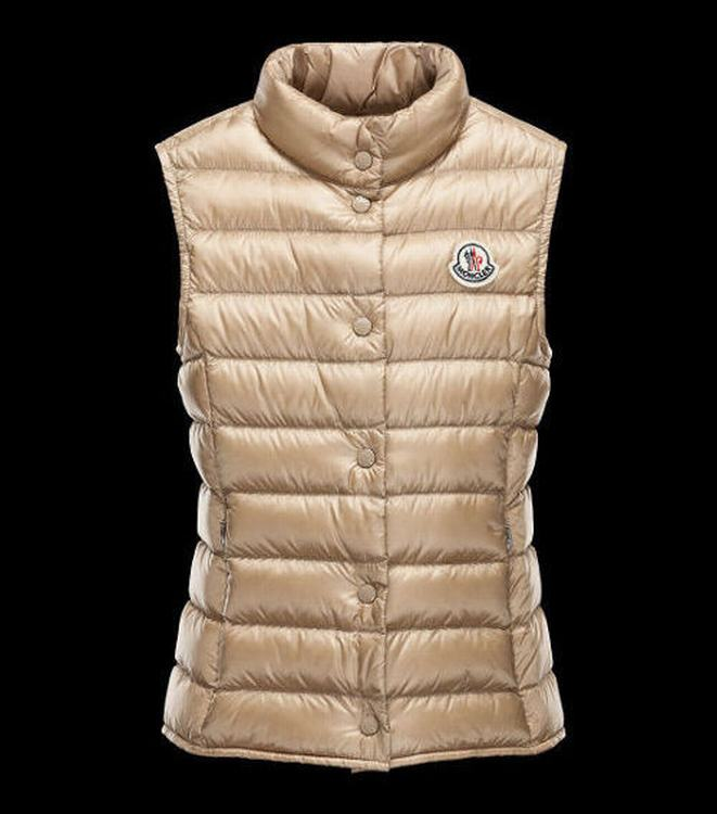 MONCLER LIANE Women Vest Brown