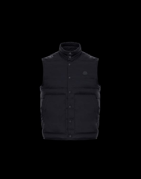 MONCLER MERAK Men Vest Black