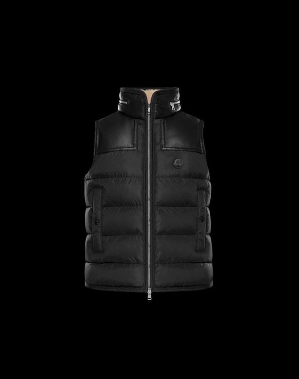 MONCLER MILLAIS Men Vest Black