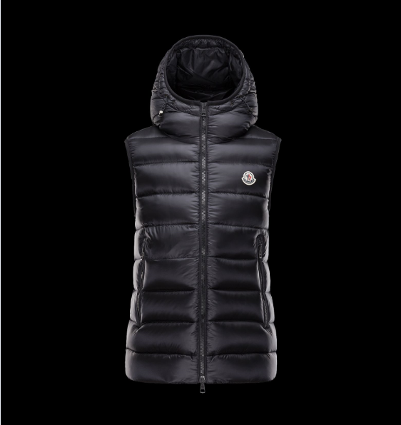 MONCLER RAY Men GILET Black