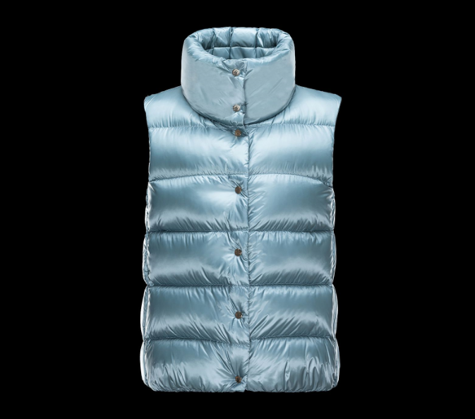 MONCLER SOURCES Woemn GILET Navy