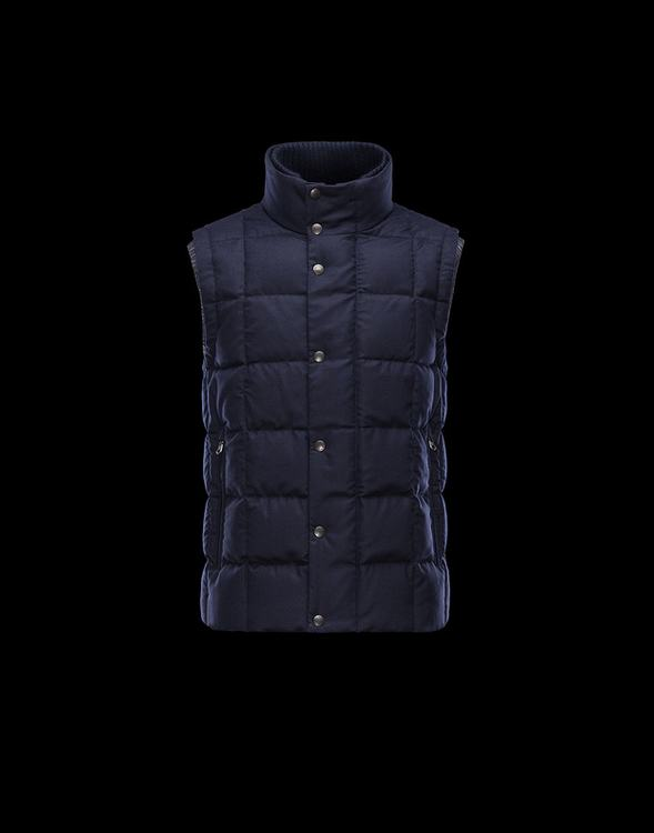 MONCLER TENAY Men GILET Blue