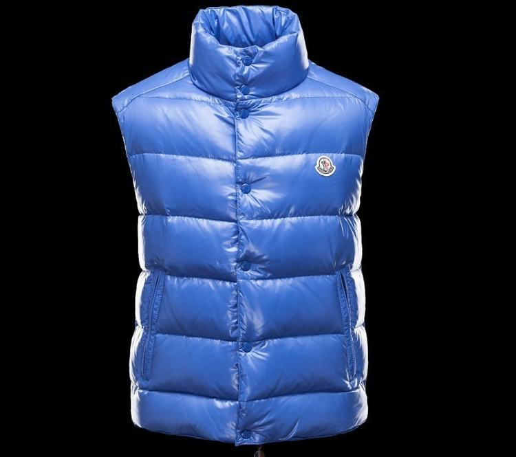 MONCLER TIB Men Vest Navy
