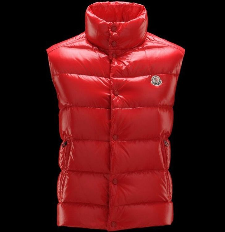 MONCLER TIB Men Vest Red