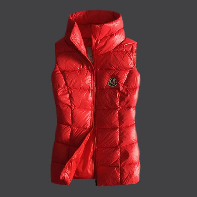 Moncler Masae Women Vest Red
