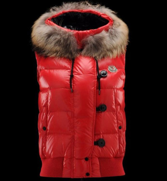 Moncler Tarn Men Women Vest Red