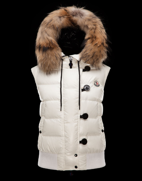 Moncler Tarn Men Women Vest White