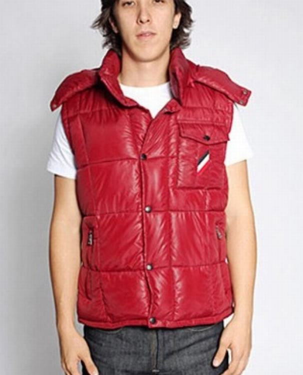 Moncler Verdon Men Vest Red