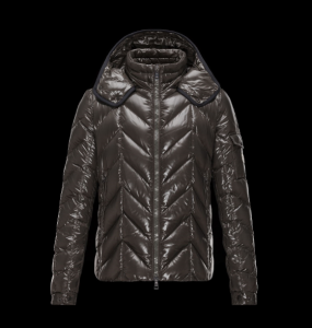 Moncler Berriat Men Jacket Brown