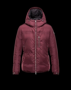 Moncler Gary Men Jacket Red