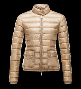 Moncler Lans Women Jacket Yellow