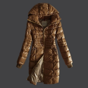 Moncler Marcy Na Women Jacket Brown