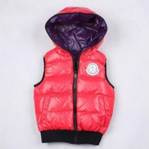 Moncler Theo Kids Jacket Red Purple