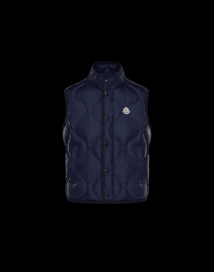 MONCLER CANUT MEN VEST Blue