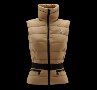 Moncler Gaelle Women Vest Yellow