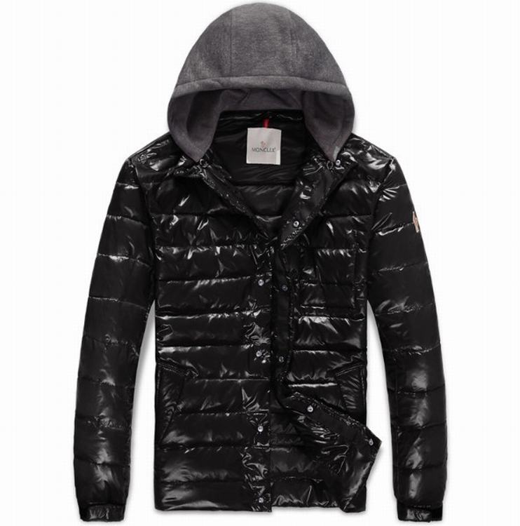 Moncler Alibert Men Jacket Black