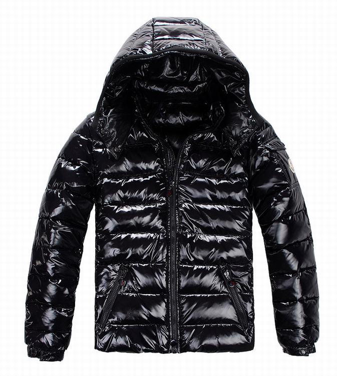 Moncler Bady Men Jacket Gloss Dark Blue
