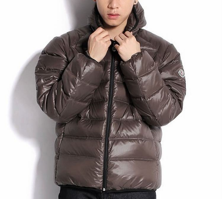 Moncler Baptiste Men Jacket Brown