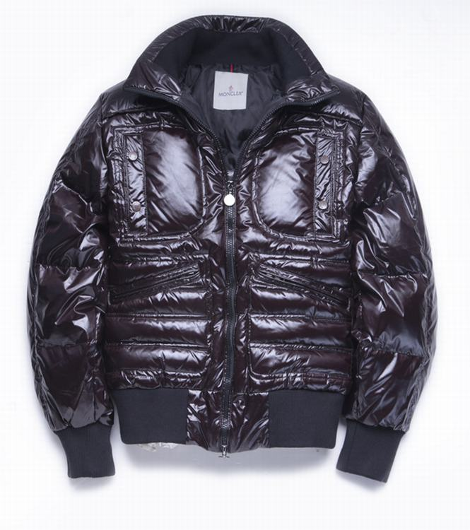 Moncler Bastille Men Jacket Dark Wine Red