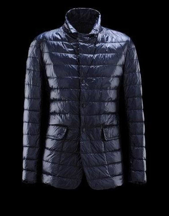 Moncler Baumier Men Jacket Blue