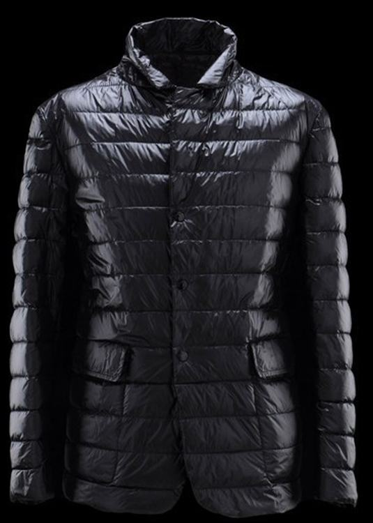 Moncler Baumier Men Jacket Dark Blue