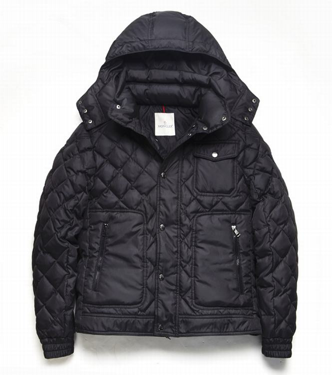 Moncler Bercy Men Jacket Dark Red