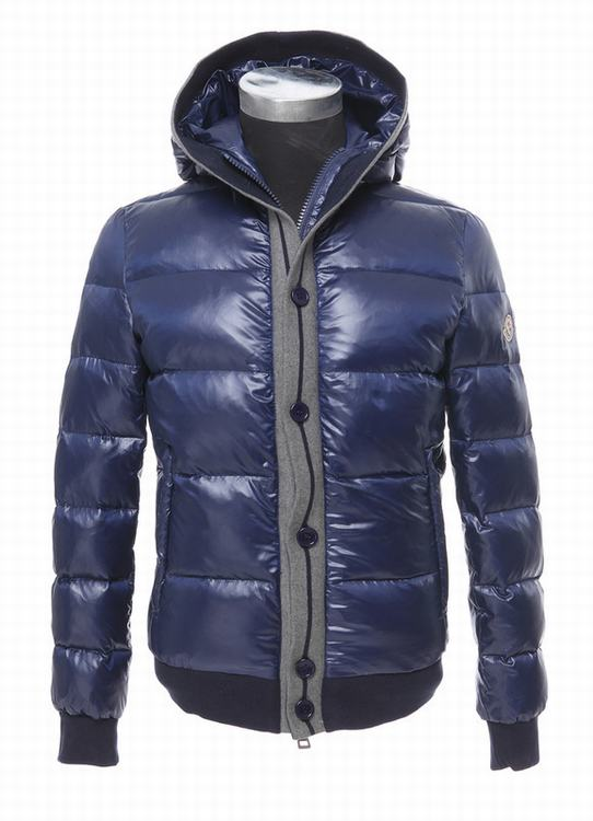 Moncler Cesar Men Jacket Royal Blue