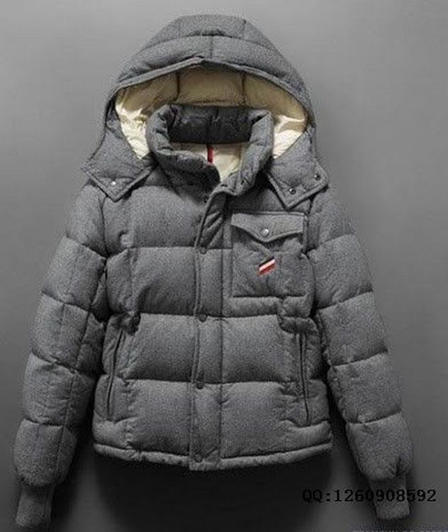 Moncler Cezanne Men Jacket Grey