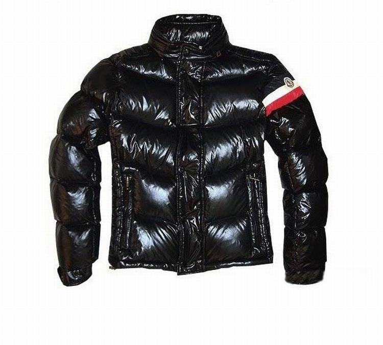 Moncler Chamonix Men Down Feather Jacket Dark Brown