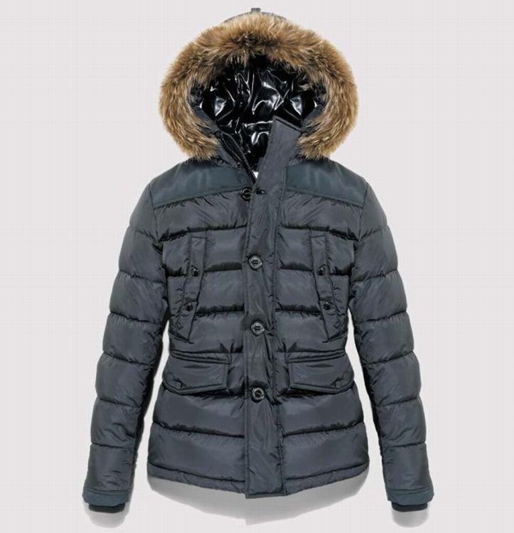 Moncler Charente Men Jacket Light Blue
