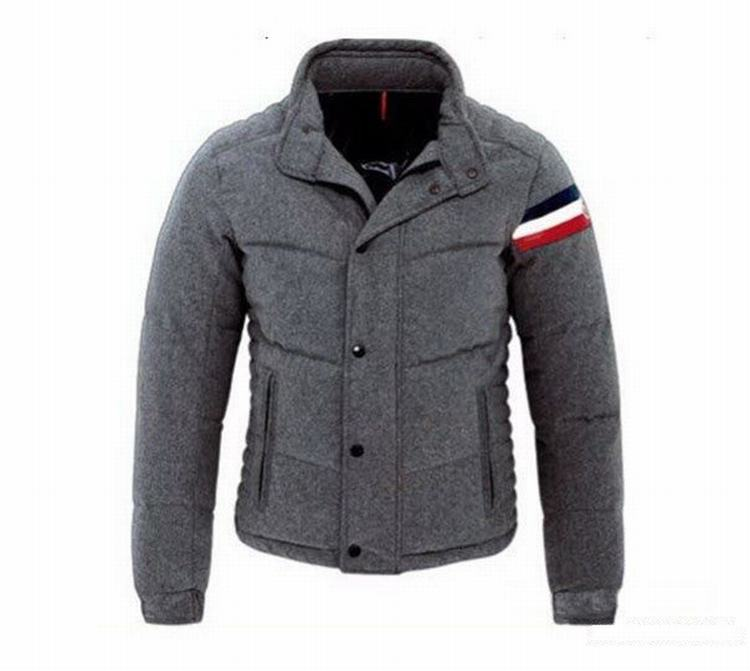 Moncler Chartreuse Men Jacket Grey