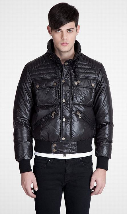 Moncler Columbus Men Jacket Black