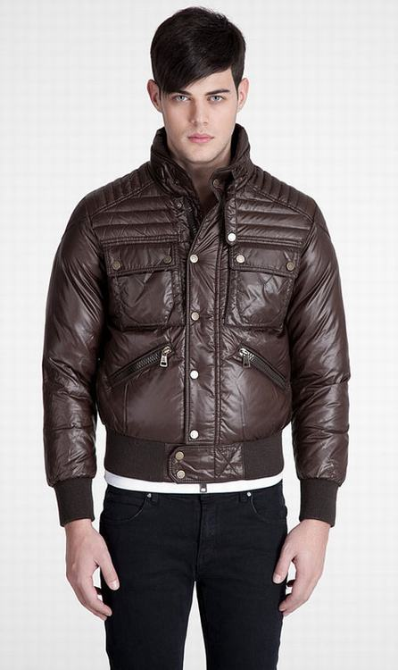 Moncler Columbus Men Jacket Brown