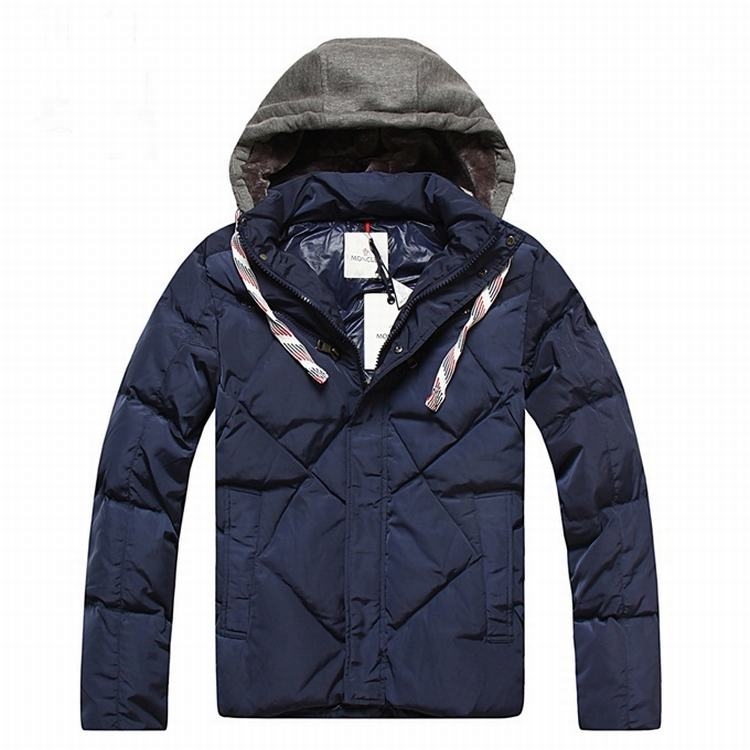 Moncler Domat Men Jacket Blue