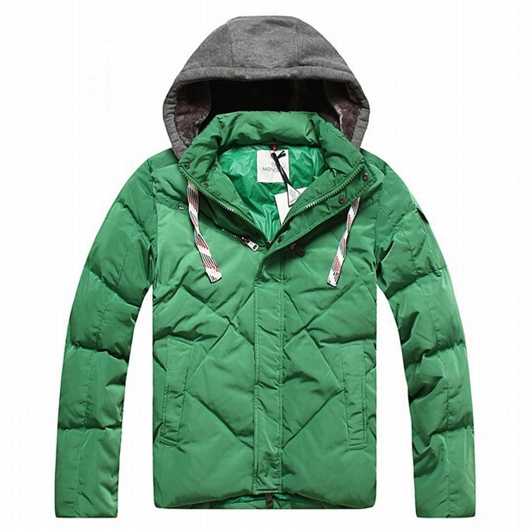 Moncler Domat Men Jacket Light Cyan