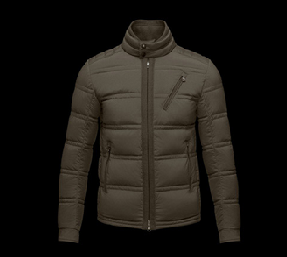 Moncler Eric Men Jacket Brown