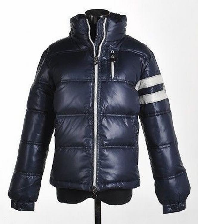 Moncler Eric Men Jacket Dark Blue White