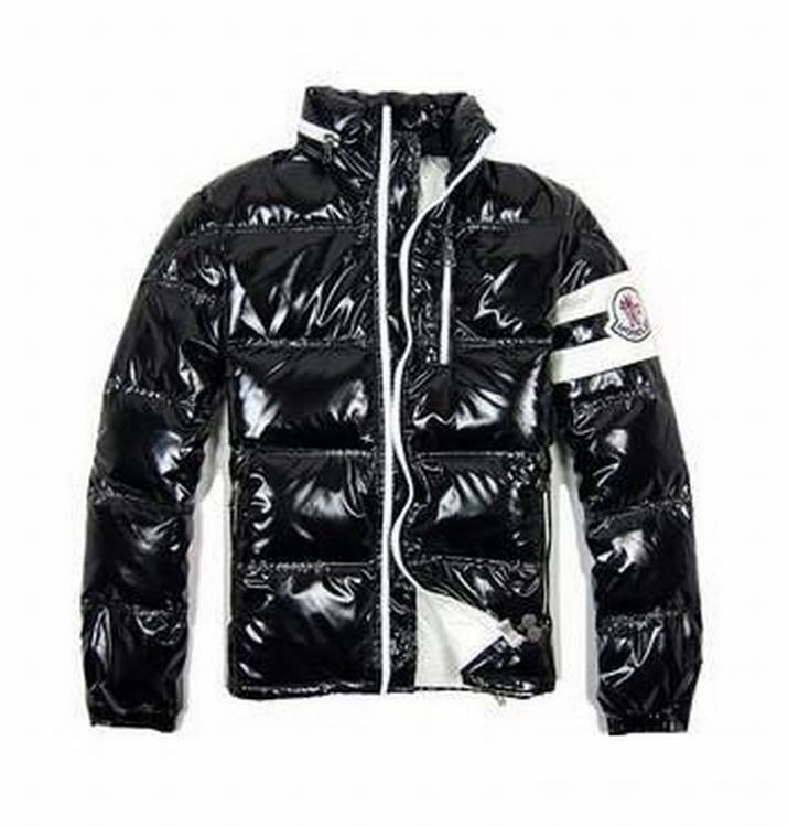 Moncler Eric Men Jacket Gloss Black