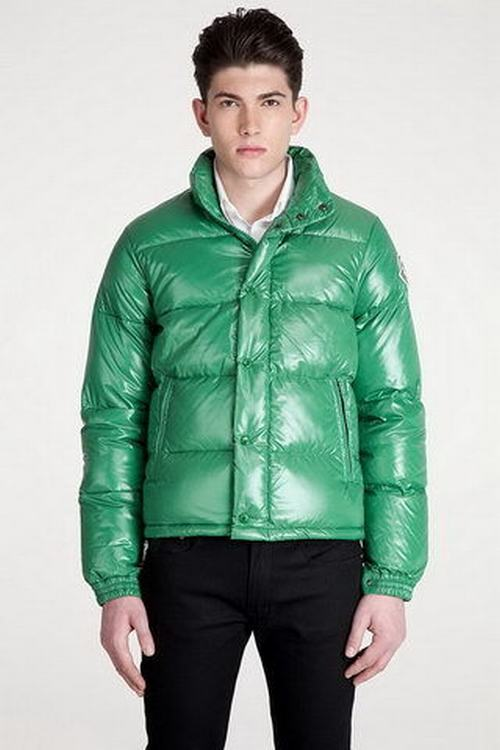Moncler Everest Men Jacket Cyan