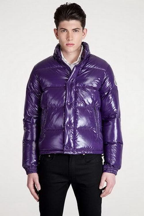 Moncler Everest Men Jacket Purple