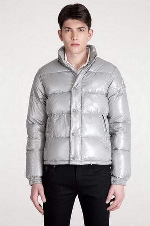 Moncler Everest Men Jacket Silver
