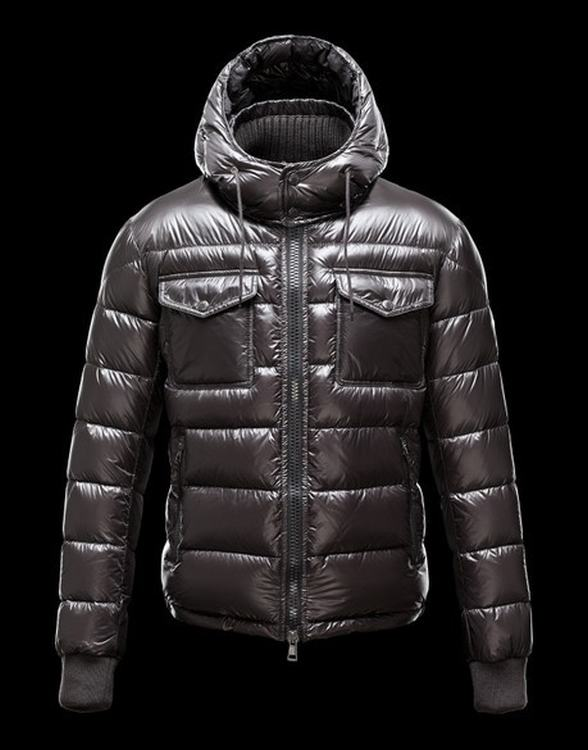 Moncler Fedor Men Jacket Dark Brown