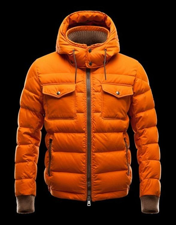 Moncler Fedor Men Jacket Orange
