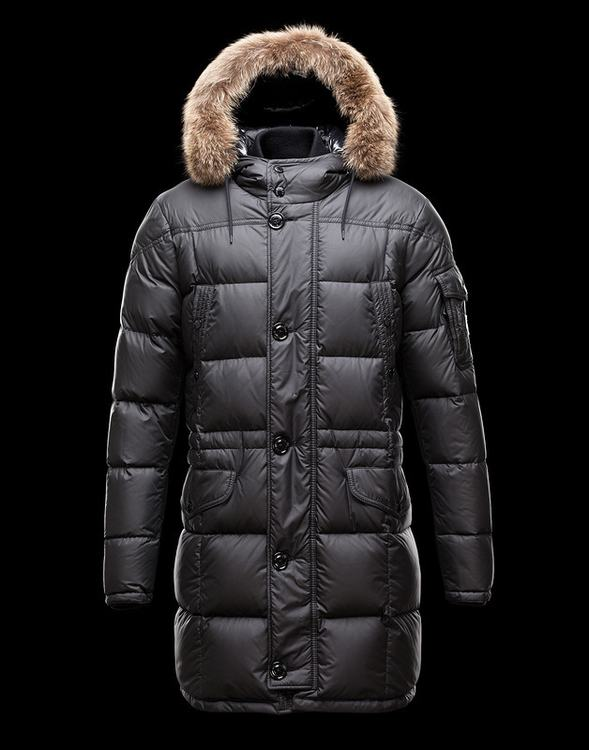 Moncler Gabriel Men Jacket Dark Blue