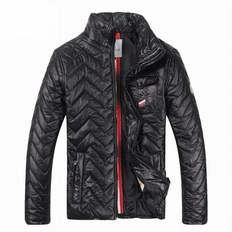 Moncler Gamme Bleu 01 Men Jacket Black