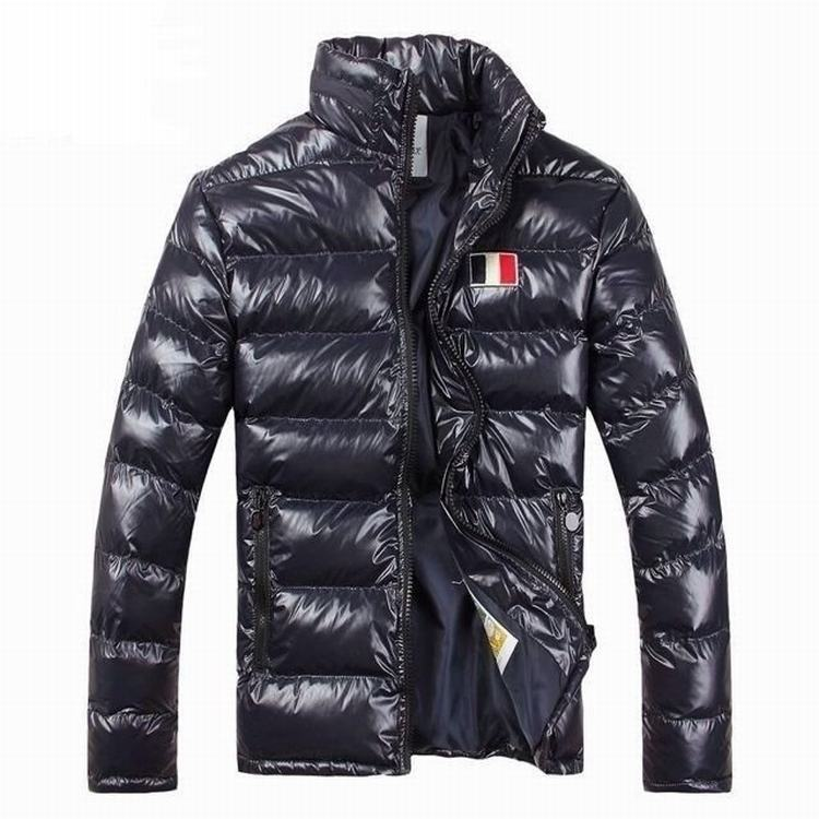Moncler Gamme Bleu 02 Men Jacket Dark Blue