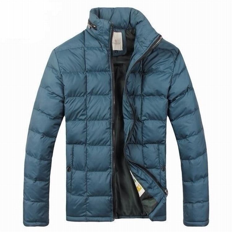 Moncler Gamme Bleu 04 Men Jacket Light Blue