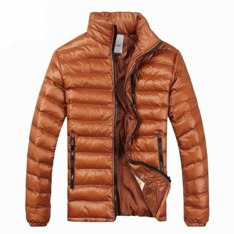 Moncler Gamme Bleu 05 Men Jacket Orange