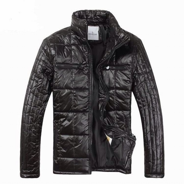Moncler Gamme Bleu 09 Men Jacket Dark Brown