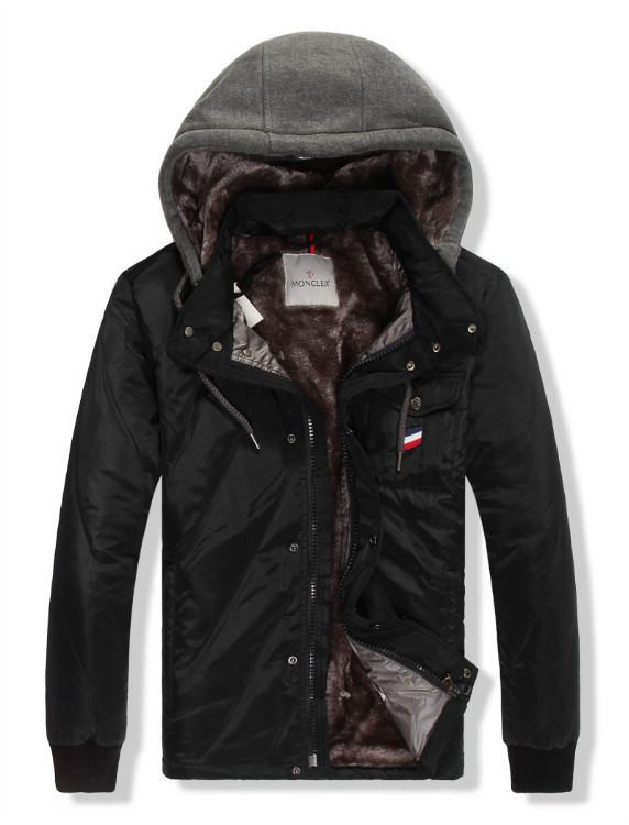 Moncler Gamme Bleu 11 Men Jacket Black